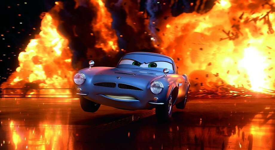 """CARS 2""  Finn McMissile (voice by Michael Caine)  ©Disney/Pixar.  All Rights Reserved. Photo: Courtesy Of Pixar/Disney"