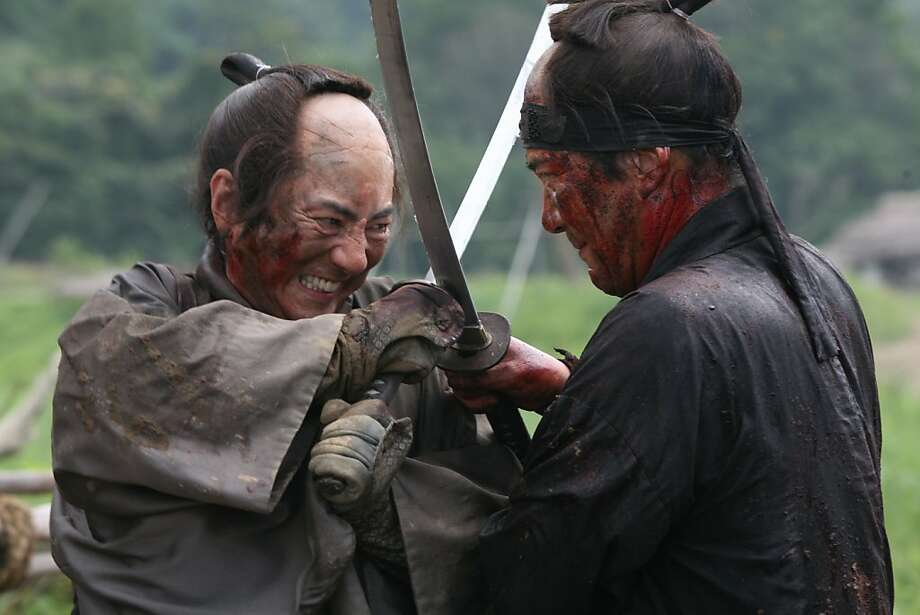 Masachika Ichimura and Koji Yakusho in 13 ASSASSINS, a Magnet Release. Photo: Courtesy Of Magnet Releasing