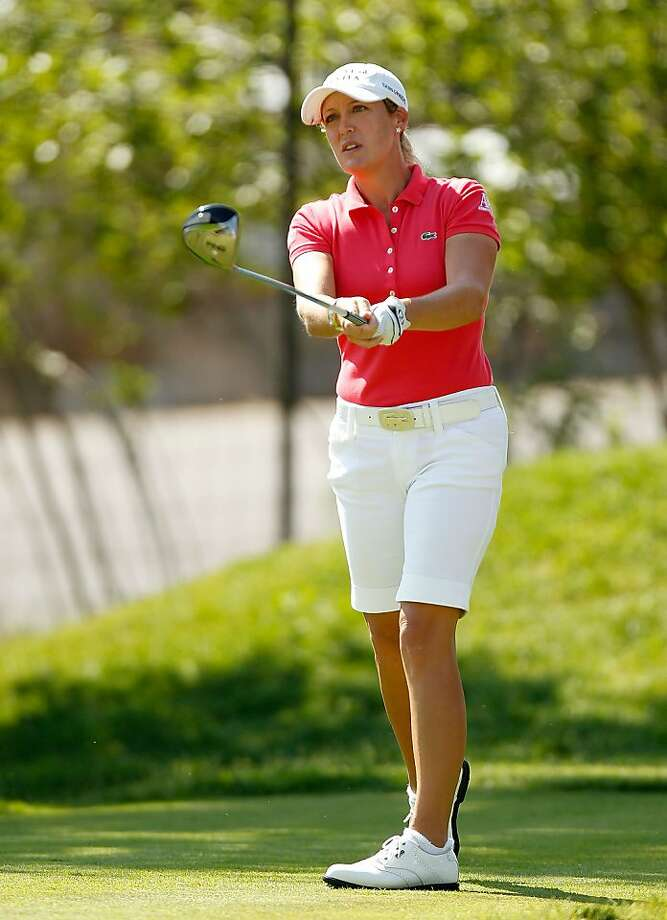 COLORADO SPRINGS, CO - JULY 07:  Cristie Kerr hits her tee shot on the 15th hole during the first round of the 2011 U.S. Women's Open at The Broadmoor on July 7, 2011 in Colorado Springs, Colorado. Photo: Mike Ehrmann, Getty Images