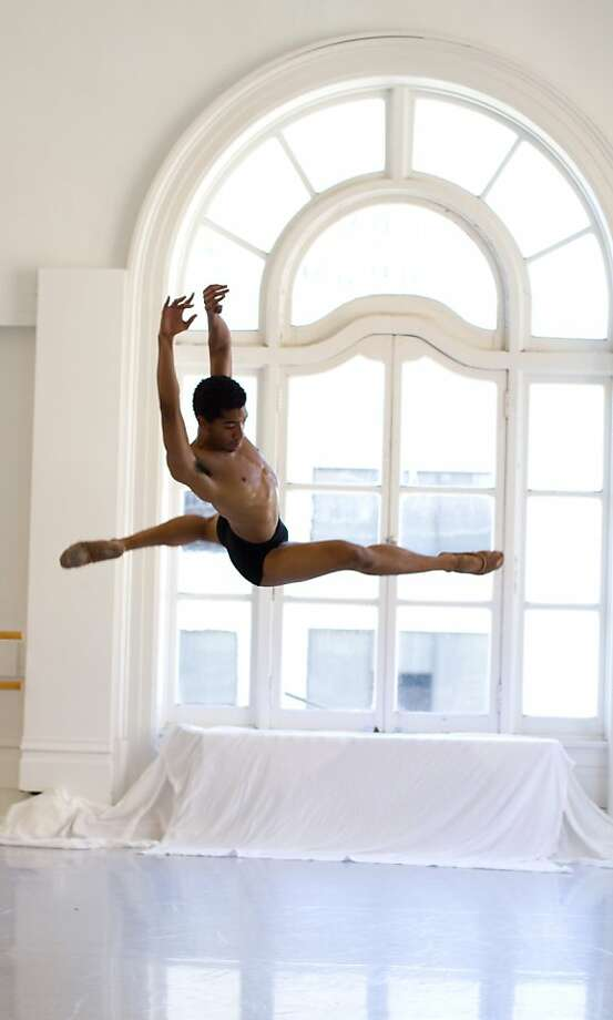 Youthen Joseph, participating in LINES Ballet's summer program Photo: Rob Kunkle, Good Lux Imagery