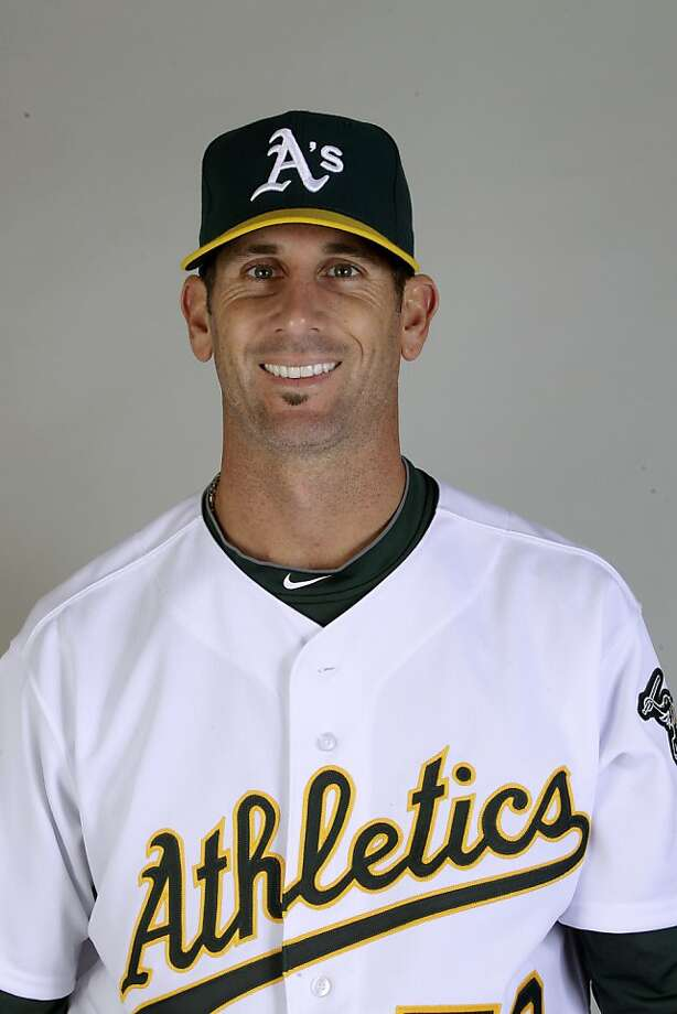 This is a 2011 photo of Grant Balfour of the Oakland Athletics baseball team.  This image reflects the Oakland Athletics active roster as of Thursday, Feb. 24, 2011 when this image was taken. Photo: Marcio Jose Sanchez, AP