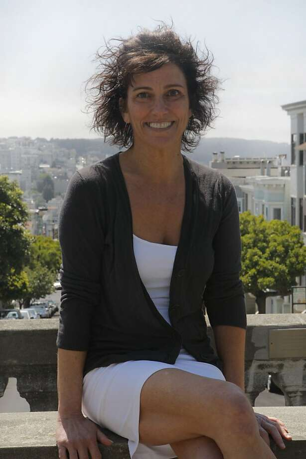 """Carolyn Cooke, author of the new novel """"Daughters of the Revolution,"""" poses in San Francisco Calif., on Sunday, June 12, 2011. Photo: Michelle Terris, The Chronicle"""