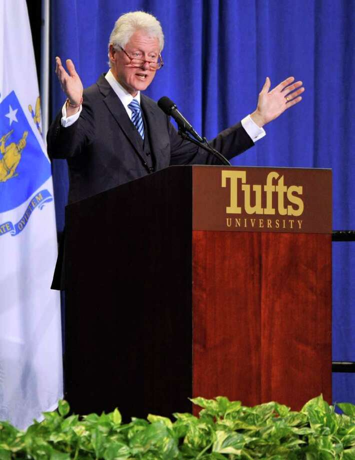 5. Tufts University (Boston, Mass.)President: Lawrence S. BascowSalary: $2.22 millionCredit: Chronicle of Higher Education Photo: JOSH REYNOLDS, Associated Press / Associated Press