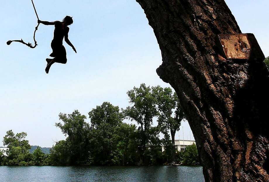 No. 16: Swimming holes with rope strings. You usually don't have to travel far to find one. Photo: Andrew Link, AP