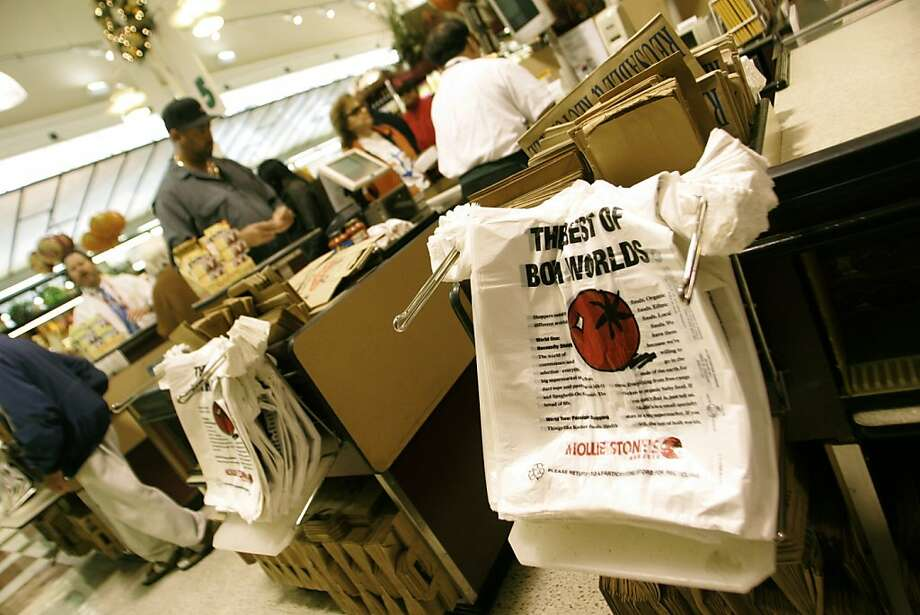 Plastic shopping bags Photo: Christina Koci Hernandez, Special To The Chronicle