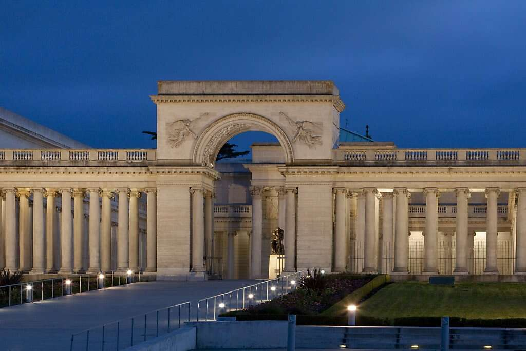 Top 10 outdoor wedding venues in sf sfgate the legion of honor courtyard has long been an ideal outdoor venue for special events of junglespirit Images