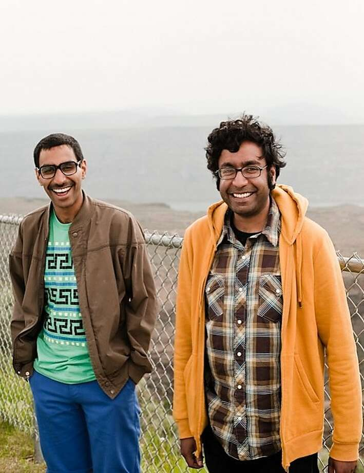 Ashok and Hari Kondabolu -- brothers in brown. Photo: Kyle Johnson