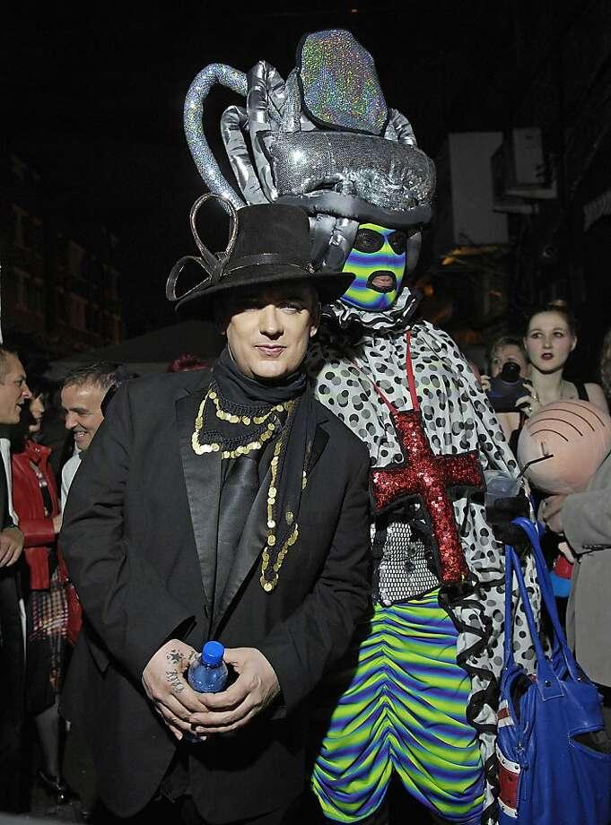 Boy George,  at Boy George's 50th Birthday celebration. London, England - 14.06.11 Credit Mandatory: Chris Jepson/WENN.com Photo: Cja/zjf