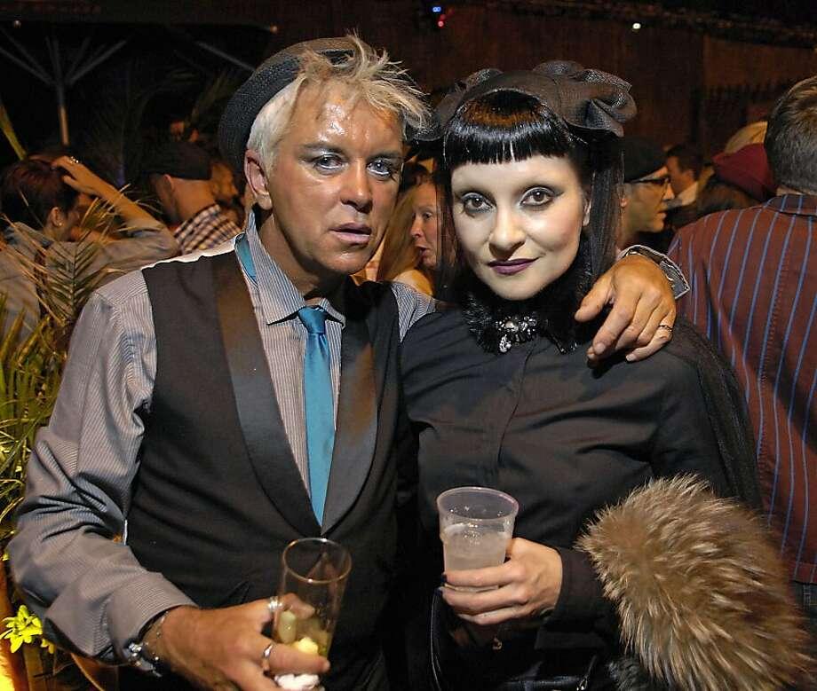 Steve Strange and Princess Juliette,  at Boy George's 50th Birthday celebration. London, England - 14.06.11 Credit Mandatory: Chris Jepson/WENN.com Photo: Cja/zjf