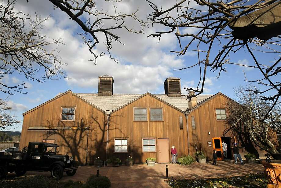 Outside of Turnbull Wine Cellar's tasting room in Napa County, Calif., on Sunday, February 27, 2011. Photo: Thomas Levinson, The Chronicle