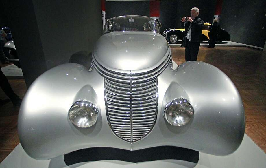 A 1937 Dubonnet Hispano-Suiza H-6C Xenia is shown at the Allure of the Automobile exhibit Friday, June , 10, 2011, at the Portland Art Museum, in Portland, Ore.  The Allure of the Automobile examines the golden age of automotive design by celebrating some of the world's finest cars from the 1930s to the early 1960s. During this era of brilliantly designed automobiles, engineering combined with artistry and craftsmanship to produce objects of unparalleled beauty. Photo: Rick Bowmer, AP