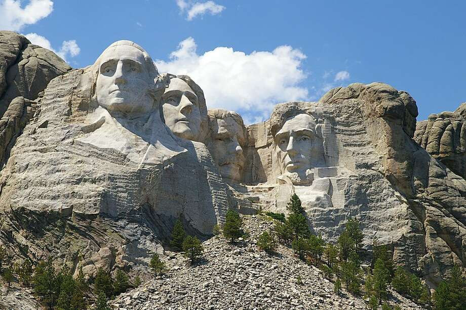 ** FILE ** In this July 18, 2006 file photo, Mount Rushmore National Memorial is shown near Keystone, S.D. (AP Photo/Dirk Lammers, File) Photo: Dirk Lammers, File, AP