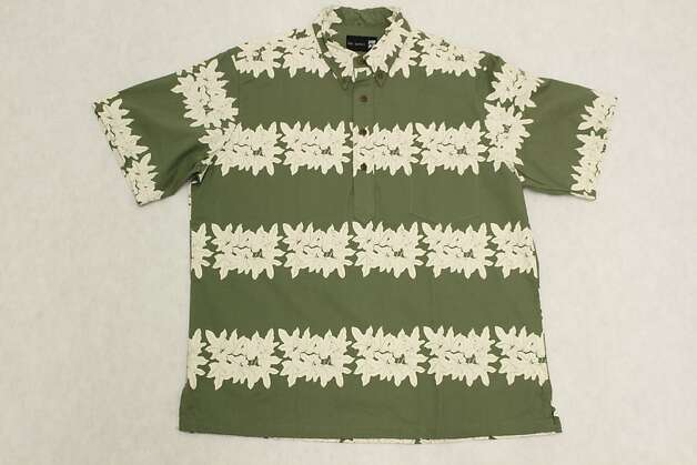 The Kukuihou print on Hilo designer Sig Zane's pullover aloha shirt celebrates the kukui, or candlenut, tree. All parts of the state tree have traditional uses, from the trunk, branches and nuts to the leaves, which can serve as medicinal compresses. Photo: Courtesy Sig Zane