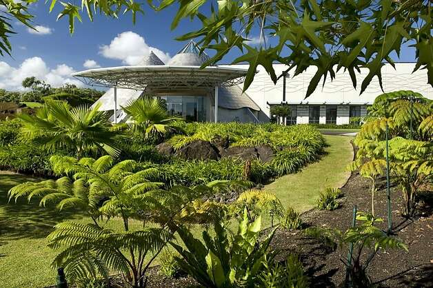 "The Native Hawaiian Garden at 'Imiloa Astronomy Center in Hilo includes endemic, indigenous and ""canoe plants"" brought to the islands by Polynesian voyagers. Photo: 'Imiloa Astronomy Center"