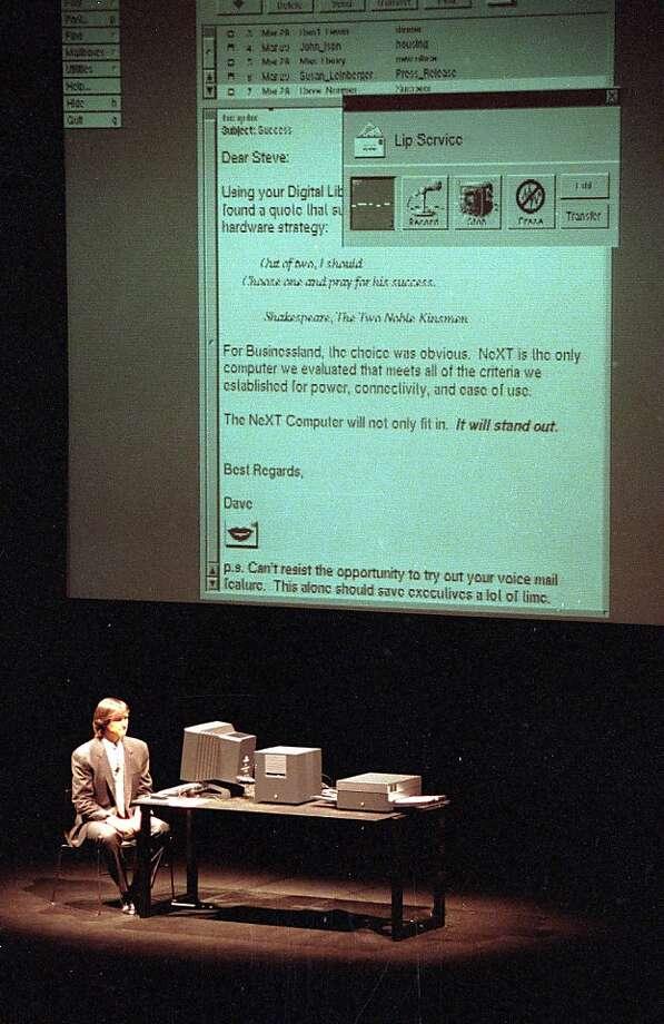 Steve Jobs and Steve Wozniak through the years