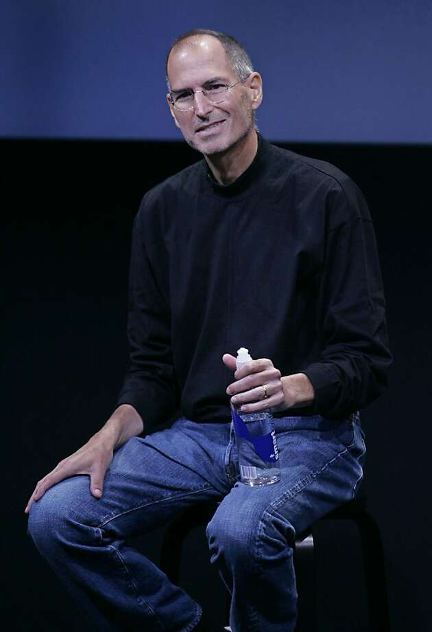 In this Oct. 14, 2008 file photo, Apple Inc. CEO Steve Jobs smiles during a product announcement at Apple headquarters in Cupertino, Calif.  A published report says Jobs, who has been on medical leave for undisclosed reasons since January, received a liver transplant two months ago, Saturday, June 20, 2009. Photo: Paul Sakuma, Associated Press