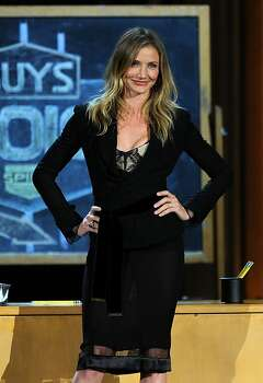 "CULVER CITY, CA - JUNE 04:  Actress Cameron Diaz speaks onstage during Spike TV's 5th annual 2011 ""Guys Choice"" Awards at Sony Pictures Studios on June 4, 2011 in Culver City, California. Photo: Kevin Winter, Getty Images"