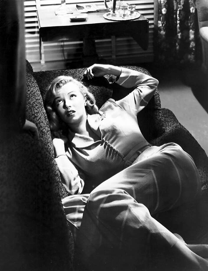 "Marilyn Monroe stars in John Huston's ""Asphalt Jungle,"" playing at the San Francisco Film Noir Festival, which runs Jan. 22-31, 2010. Photo: Film Noir Foundation"