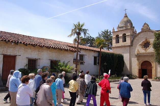 Adult tour groups and individual visitors as well as parishioners keep the ...