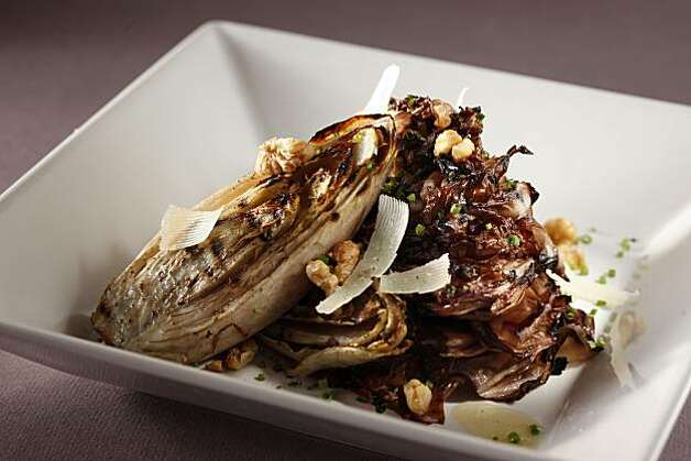 Grilled Endive-Radicchio Salad in San Francisco, Calif., on June 23, 2010. Food styled by Britt Billmaier. Photo: Craig Lee, Special To The Chronicle