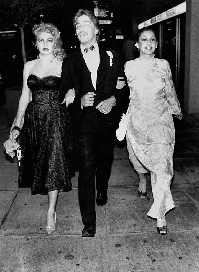 (l to r) Emily Peterson, Mark Puryear and Christiana Badasow take a walk after the Alamo High School prom. June 1, 1982.(l to r) Emily Peterson, Mark Puryear and Christiana Badasow take a walk after the Alamo High School prom. May 28, 1982. Photo: Fred Larson, The Chronicle