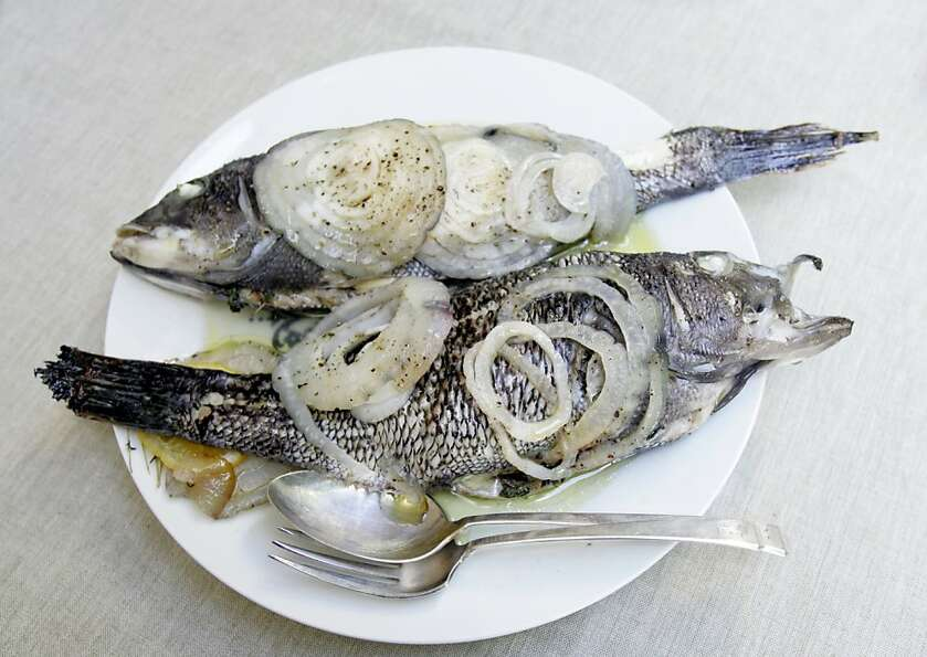 Whole Roast Fish With Salmoriglio