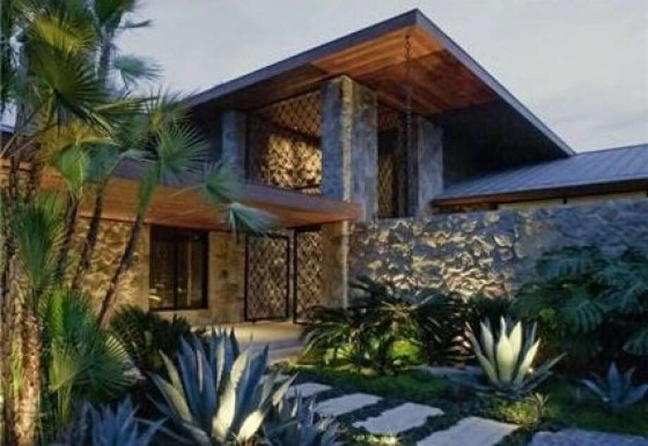 The 10,000-square-foot house was constructed in 1970 by and designed by Harold Levitt. Photo: Coldwell Banker