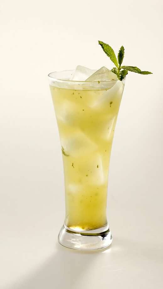 Mint Cucumber Lime Soda in San Francisco, Calif., on April 21, 2010. Drink styled by Amanda Gold. Photo: Craig Lee, Special To The Chronicle