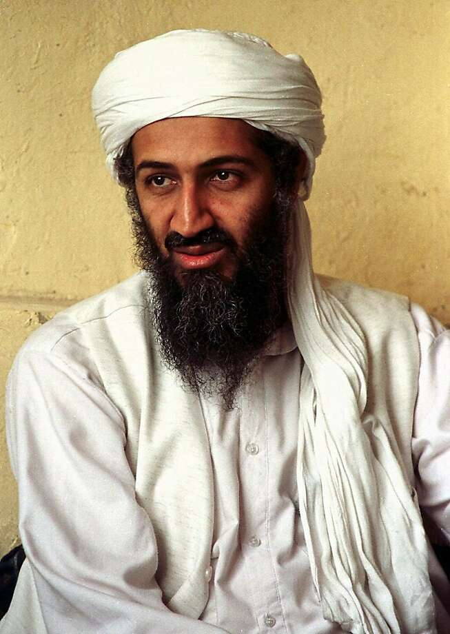 FILE - This April 1998 file photo shows exiled al Qaida leader Osama bin Laden in Afghanistan. A person familiar with developments on Sunday, May 1, 2011 says bin Laden is dead and the U.S. has the body. (AP File Photo) Photo: AP