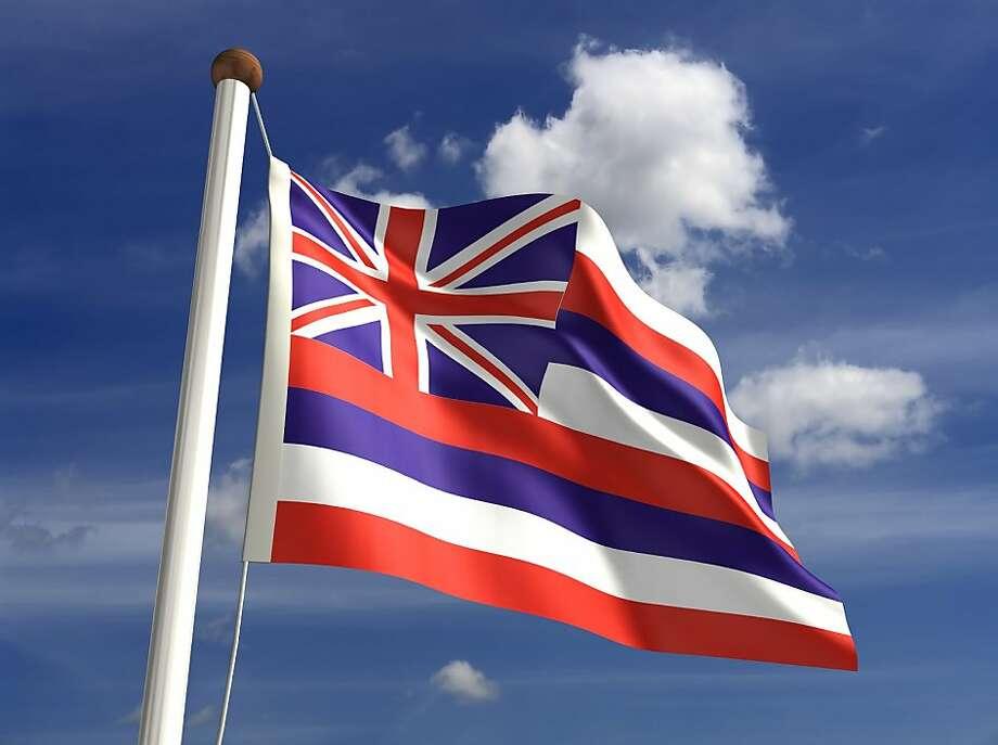 Hawaiian flag Photo: Istock.com