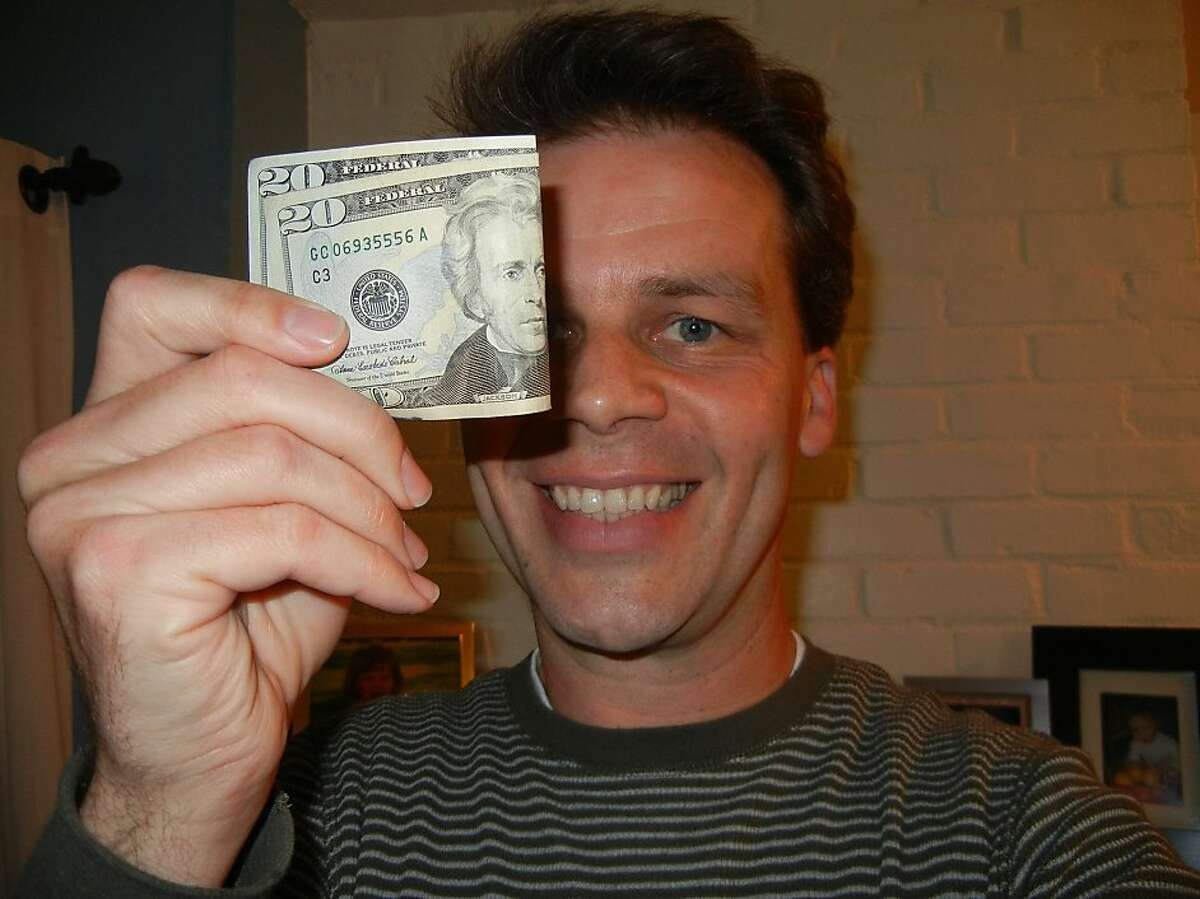 After finding $60 in the parking lot of a convenience store in Sacramento, Rob Cockerham tried unsuccessfully to return the money to its rightful owner. He ended up keeping it.