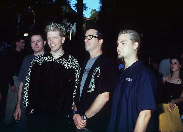 10/7/99 Los Angeles, CA. The Offspring at the First Annual ARTIST direct Online Music Award. Photo: Brenda Chase / Getty Images