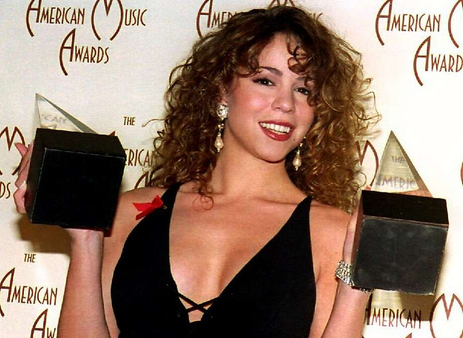 Then: Mariah Carey