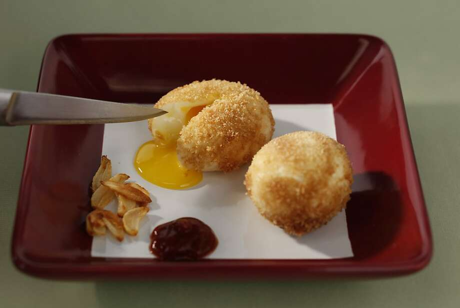 Deep Fried Egg in San Francisco, Calif., on September 15, 2010. Food styled by Sophie Brickman. Photo: Craig Lee, Special To The Chronicle