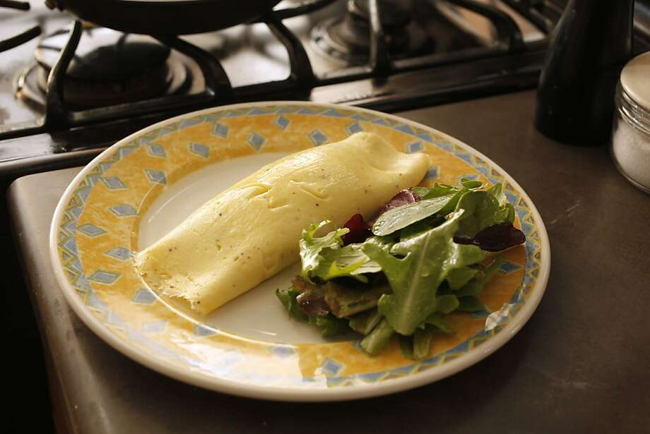 French Omelet in San Francisco, Calif., on September 15, 2010. Food styled by Sophie Brickman. Photo: Craig Lee, Special To The Chronicle