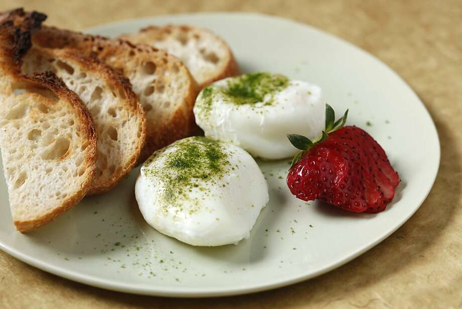 Matcha Poached Eggs in San Francisco, Calif., on April 7, 2010. Food styled by Julia Mitchell. Photo: Craig Lee, Special To The Chronicle