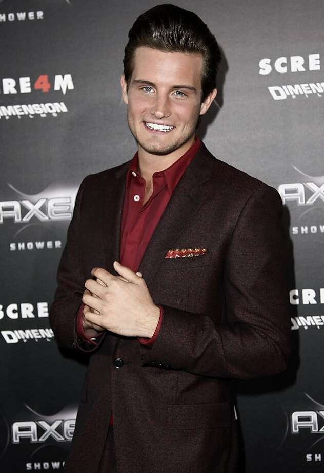 Actor Nico Tortorella, who played in 2011's 'Scream 4.' Photo: Matt Sayles, AP
