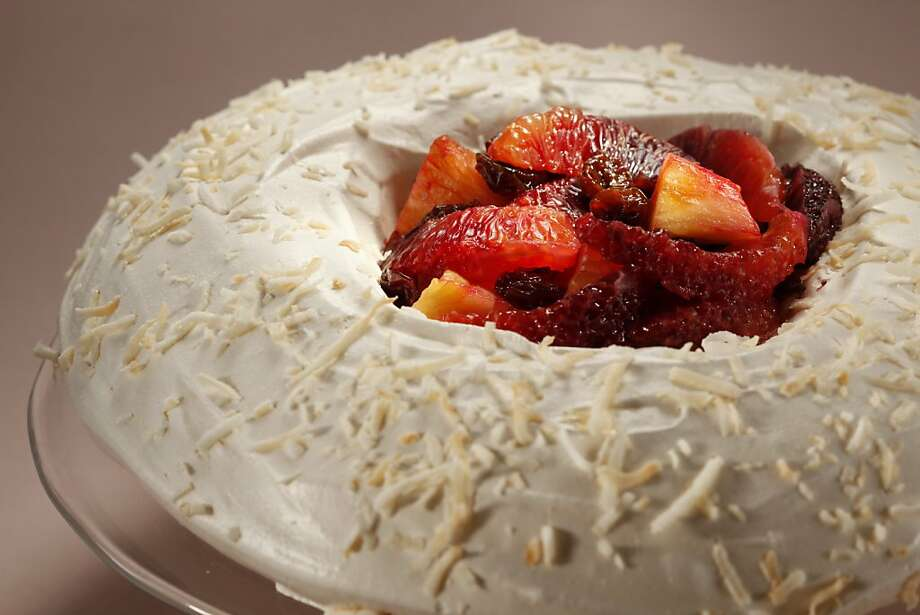 Aunt Ginny's Forgotten Dessert was a hit in the 1950s, and it's still great today. Click here for the recipe. Photo: Craig Lee, Special To The Chronicle