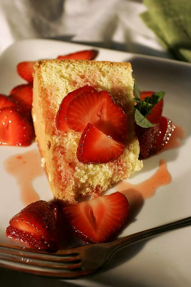 Pan Di Spagna (Sponge Cake): Serve for breakfast with fruit preserves. For dessert, it's delicious with sliced, sugared strawberries. Click here for the recipe. Photo: Craig Lee, SFC