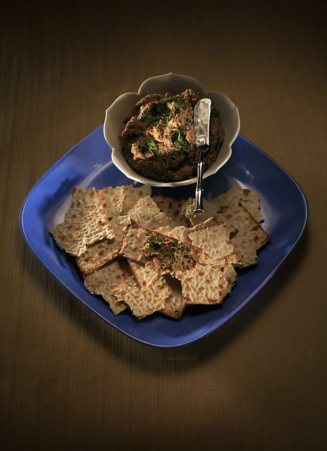 Tangy Chopped Liver: If you or your guests keep kosher, you'll need to take a few extra steps, detailed in the recipe here.  Photo: John Lee, SFC