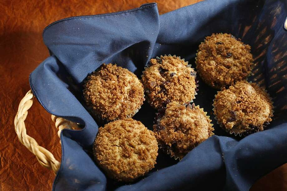 Passover Streusel-Topped Blueberry Muffins: Start the day with the muffins. Click here for the recipe.  Photo: Craig Lee, The Chronicle