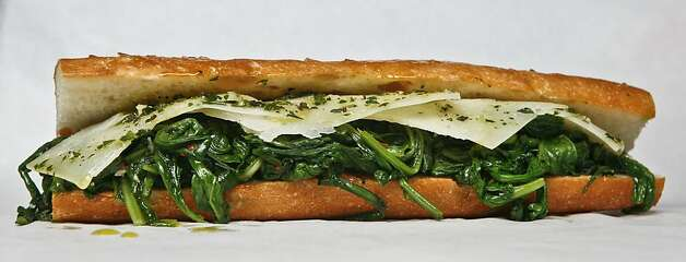 Manchego & Greens  From Cesar, Berkeley and Oakland Photo: Russell Yip, The Chronicle