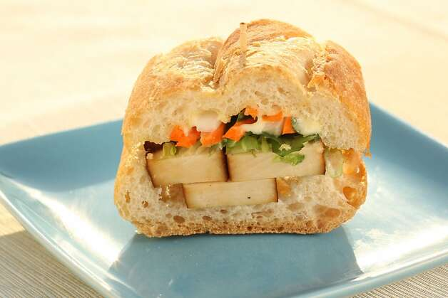 Vegetarian Banh Mi in San Francisco, Calif., on August 13, 2008. Photo: Craig Lee, The Chronicle