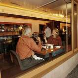Redd, a Yountville restaurant, offers superb food in a sleek sophisticated atmosphere.