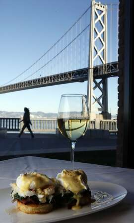 WATERBAR: Visitors to the Waterbar restaurant on San Francisco's Embarcadero enjoy great views along with their food.