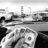 July 1, 1991 - $3 is needed to cross the Golden Gate Bridge now.