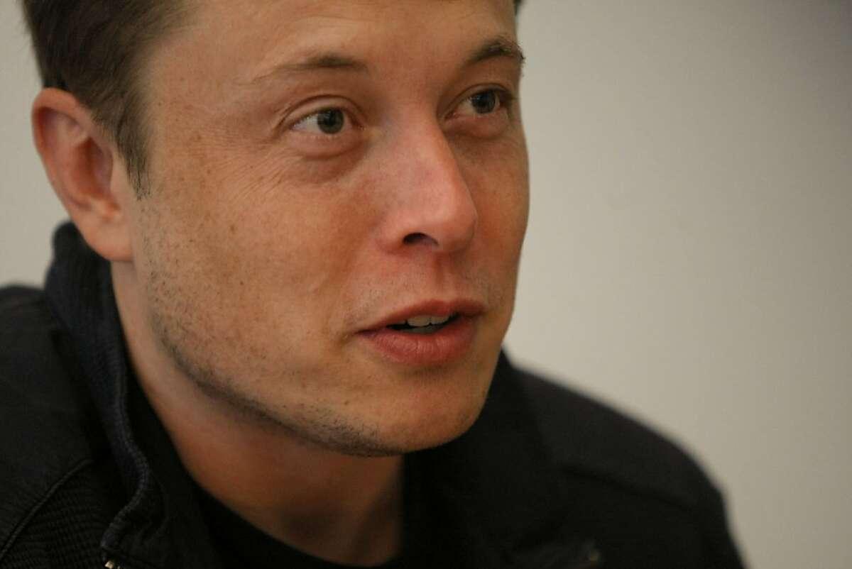 Elon Musk, CEO of Tesla Motors in Palo Alto Calif., on June 14, 2011.