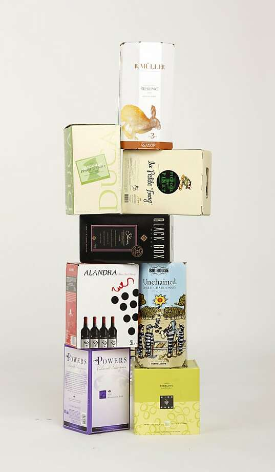 The Chronicle Recommends: Box wines Photo: Craig Lee, Special To The Chronicle