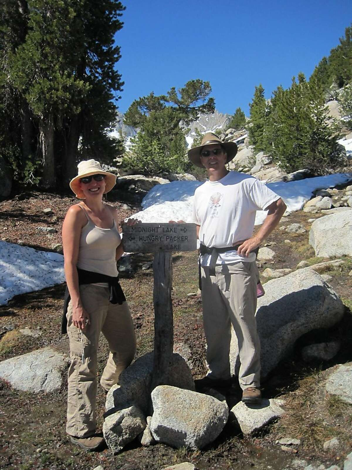 Dr. Gregory Meyer and his wife, Paula Meyer. The doctor was swept off a bridge at Yosemite National Park on June 29, 2011.