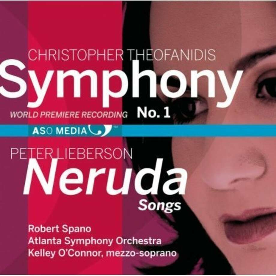 "CD Cover: Christopher Thofanidis Symphony No. 1, Peter Lieberson ""Neruda Songs"" Photo: ASO Media"